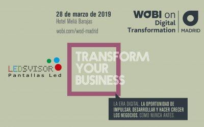 Wobi on Digital Transformation – Madrid
