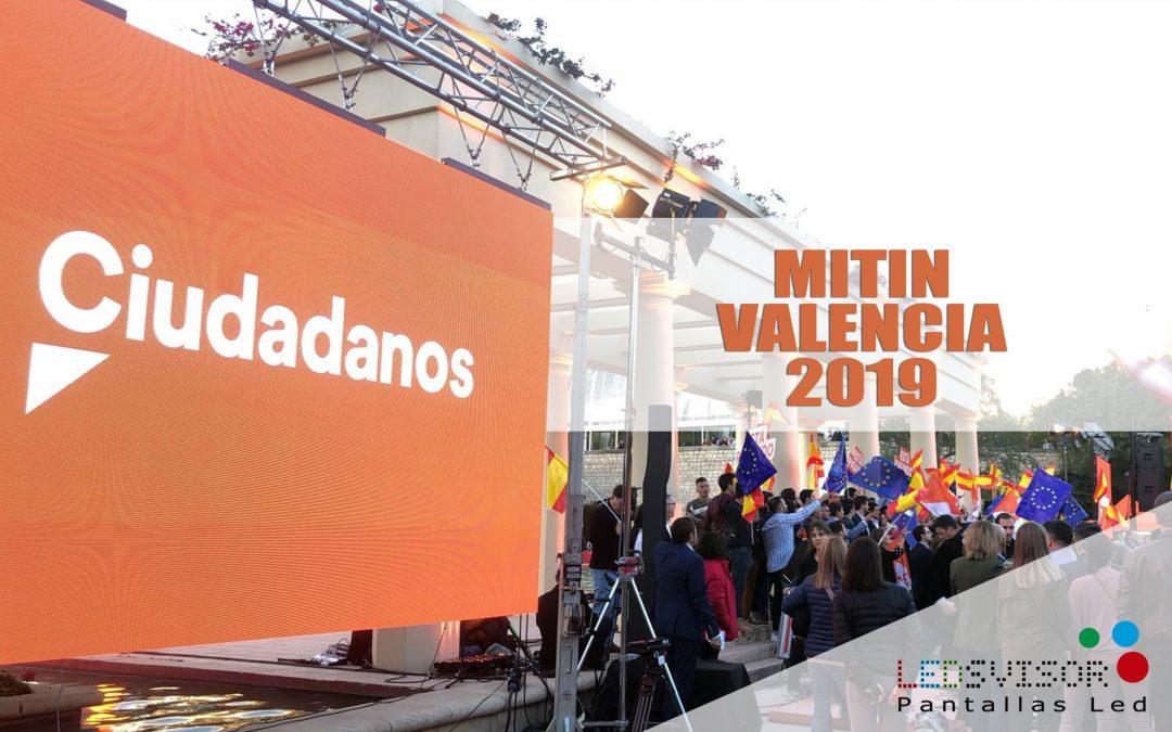 Mitin Ciudadanos – Valencia 2019