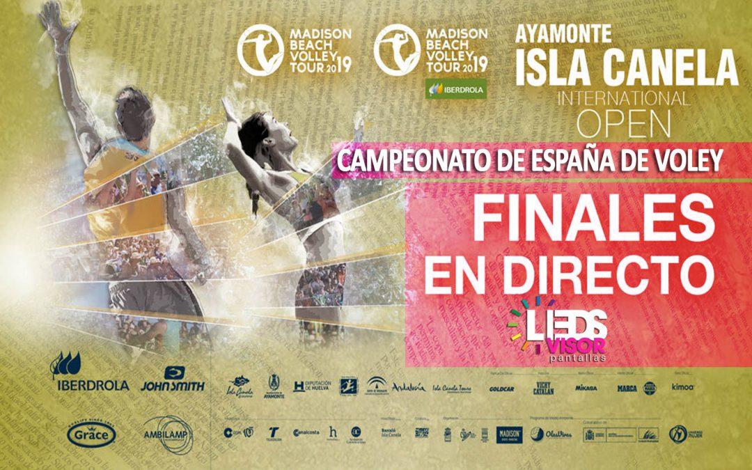 Finales 2019 del Campeonato de España de Voley Playa en Isla Canela