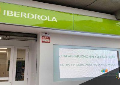 instalacion venta pantalla leds iberdrola 3 - ledsvisor